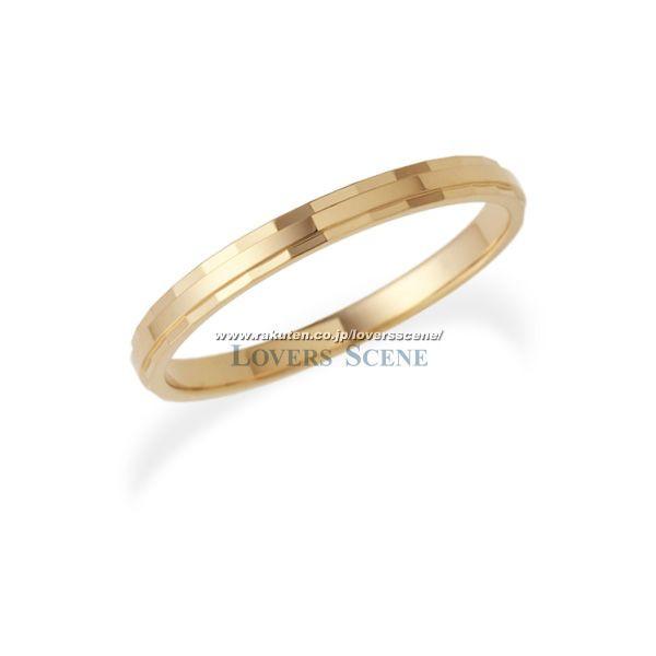 ◆50%OFF・在庫処分◆11号のみ【刻印無料】Lovers & Ring ラバーズリング K10ピンクゴールドリング【LSR0603PK】