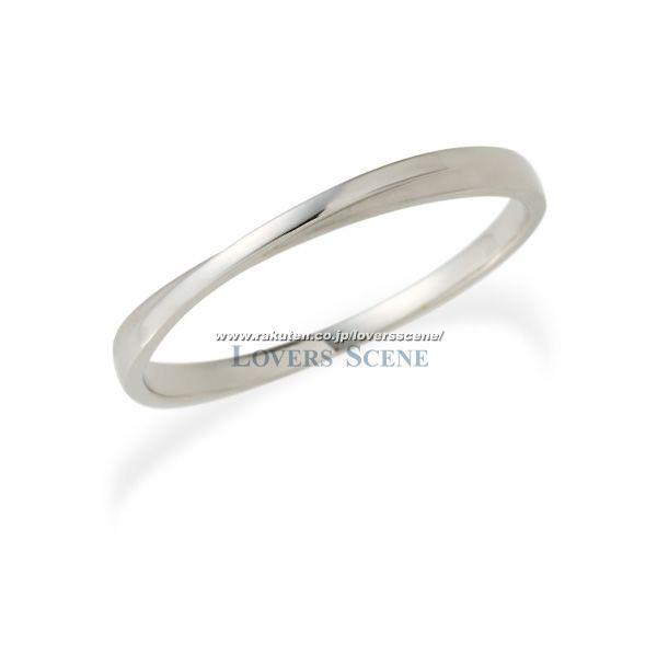 納期約3週間【刻印無料】◆Lovers & Ring ラバーズリング◆K10ホワイトゴールドリング~お好きな素材やカラーが選べる~【LSR0604WG】