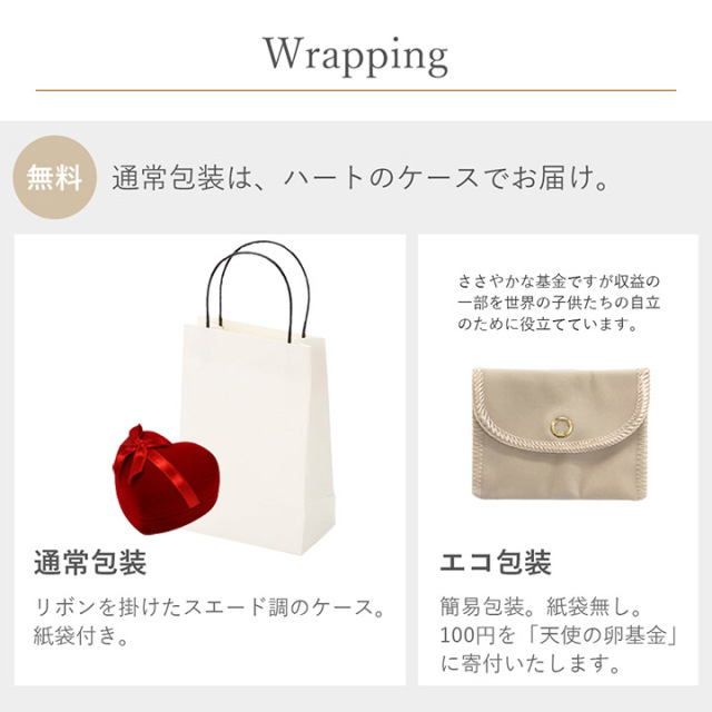 Lovers & Ring ラッピング