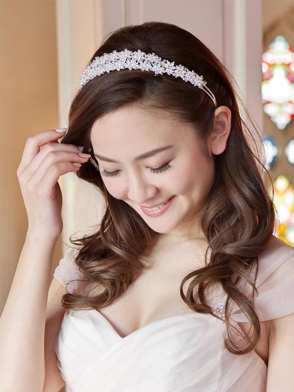 カチューシャ ブライダル ウェディング 結婚式