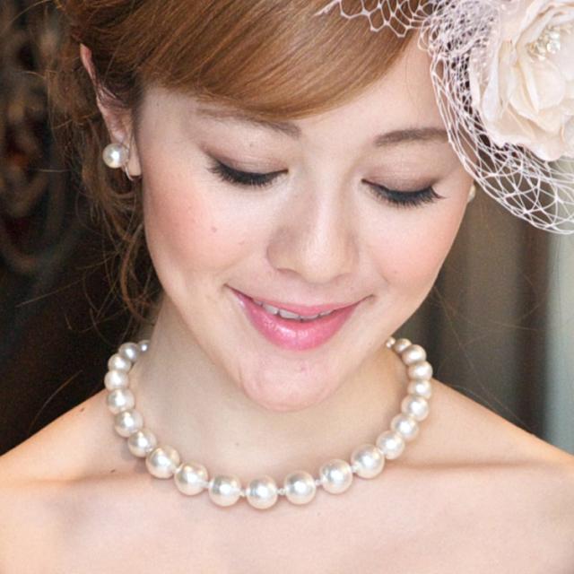 ネックレスセット チョーカーセット パール ウェディング ウエディング ブライダル 結婚式