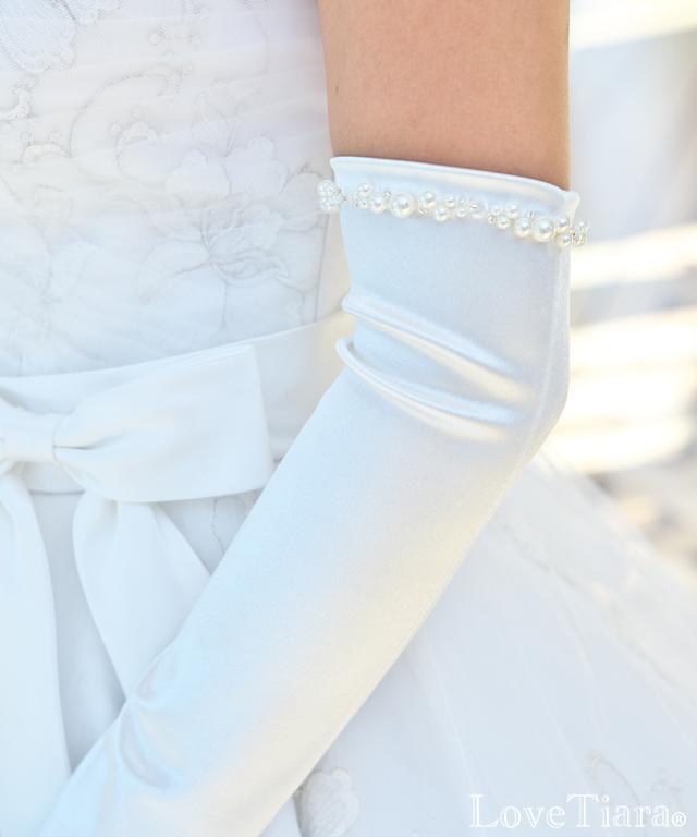 グローブ サテン ウエディング ブライダル 結婚式