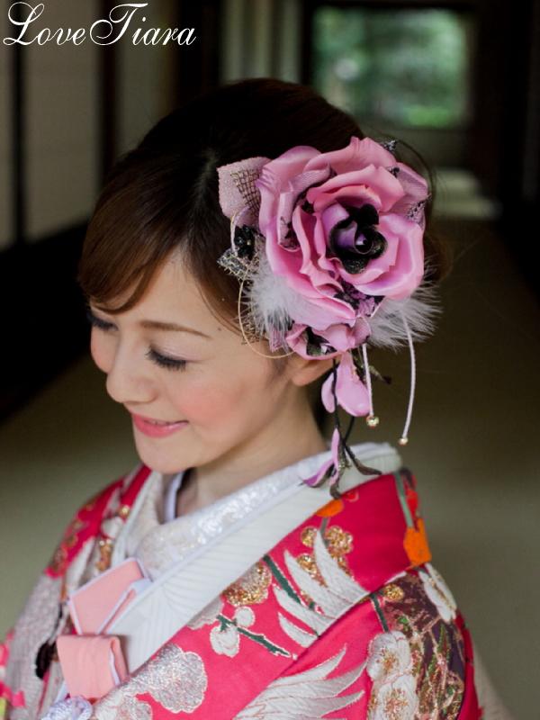 和の髪飾り ウェディング ブライダル 結婚式