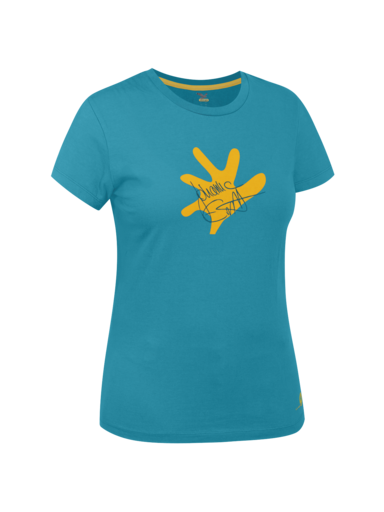 ヨハンナエルネスト(J.ERNST) COTTON WOMEN SHORT SLEEVE T-SHIRT - サレワ(salewa)
