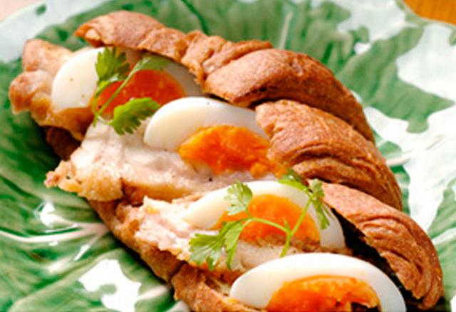 ドクター荒木の健康小麦ふすまパン【クロワッサン】アレンジ