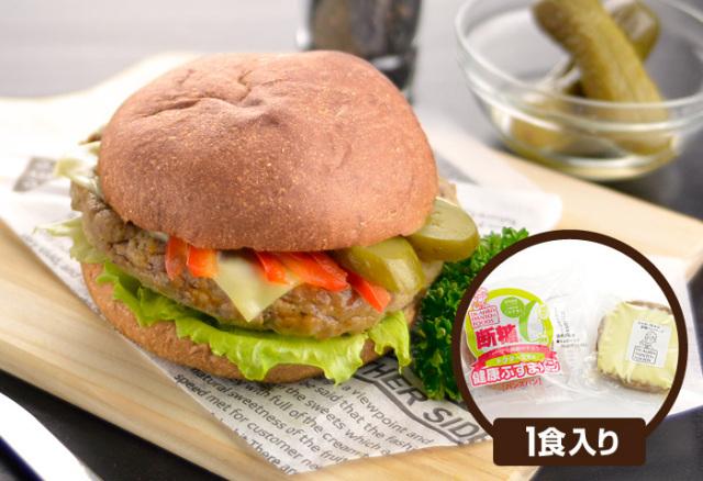 ドクター荒木の健康小麦ふすまパン【断糖チーズバーガー】イメージ