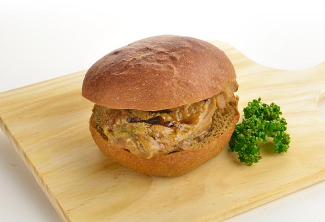 ドクター荒木の健康小麦ふすまパン【断糖照り焼きチキンバーガー】単品