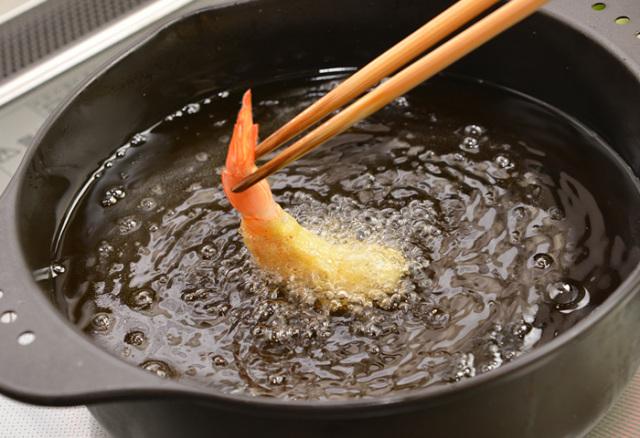 ドクター荒木オリジナル調理食材シリーズ【ヘルシートーフラワー(てんぷら用)】調理イメージ