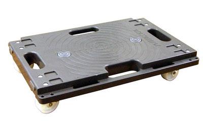樹脂連結ドーリー PD-403-2N 416×275 耐荷重120kg (1台単価)≪送料無料≫