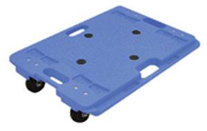 樹脂連結ドーリー PD-406-3N 600×400 耐荷重150kg (1台単価)≪送料無料≫