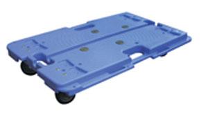 樹脂連結ドーリー PD-407-3N 680×390 耐荷重100kg (1台単価) ≪送料無料≫