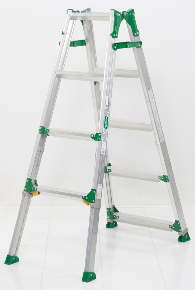 伸縮足付はしご兼用脚立PRH1215FX