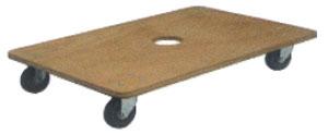 合板ドーリー WD-345 450×300 耐荷重100kg (1台単価) ≪送料無料≫