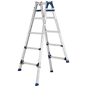 伸縮足付はしご兼用脚立PRE150FX