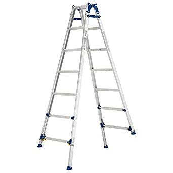 伸縮足付はしご兼用脚立PRE210FX