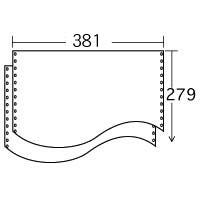 ストックフォーム 15×11 白紙 (2000枚) 1P ≪送料無料≫