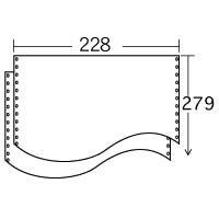 ストックフォーム 9×11 白紙 (2000枚) 1P ≪送料無料≫