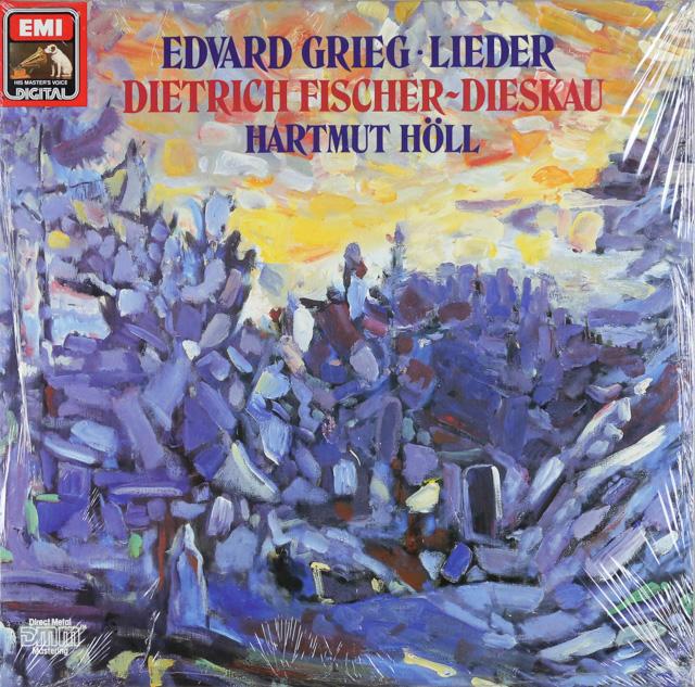 【未開封】 フィッシャー=ディースカウ&ホルのグリーグ/歌曲集 独EMI 3287 LP レコード