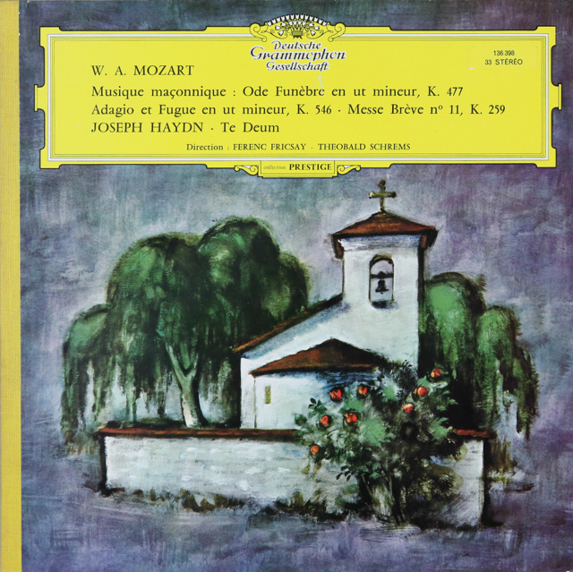 【独最初期盤】 フリッチャイのハイドン/「テ・デウム」ほか 独DGG 3286 LP レコード