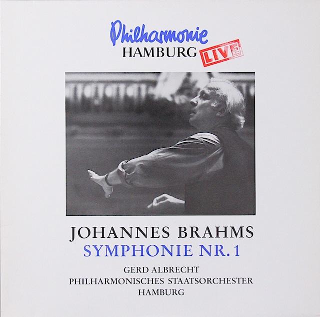 アルブレヒトのブラームス/交響曲第1番 独insider 3298 LP レコード