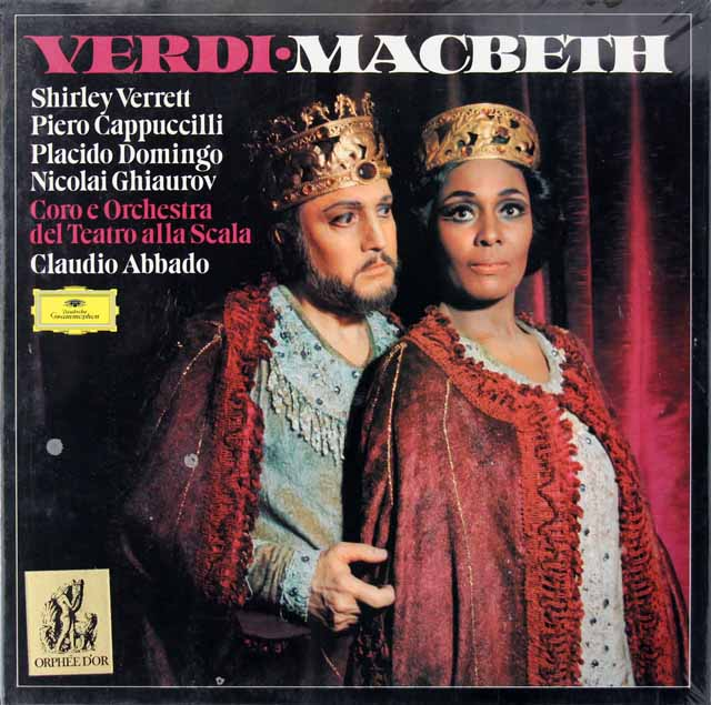 【未開封】 アバドのヴェルディ/「マクベス」全曲 DGG 3281 LP レコード