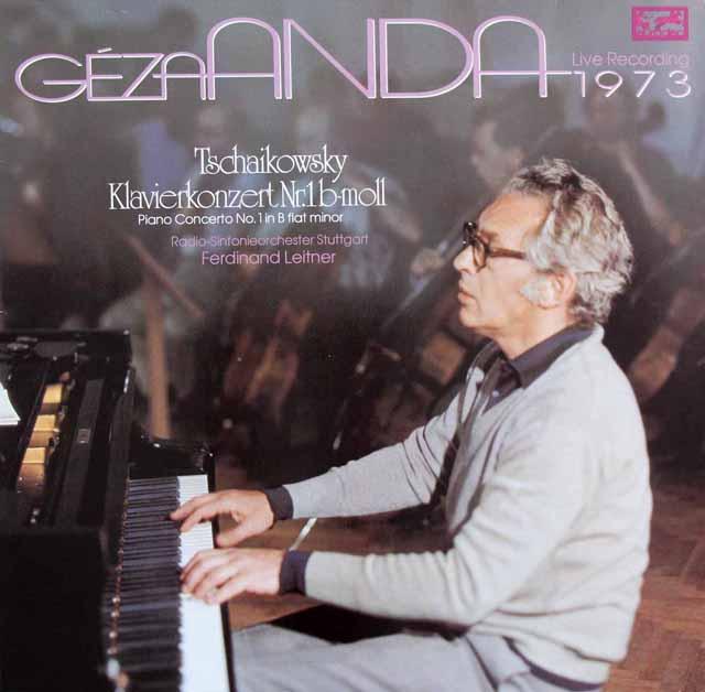 アンダ&ライトナーのチャイコフスキー/ピアノ協奏曲第1番 独eurodisc 3398 LP レコード