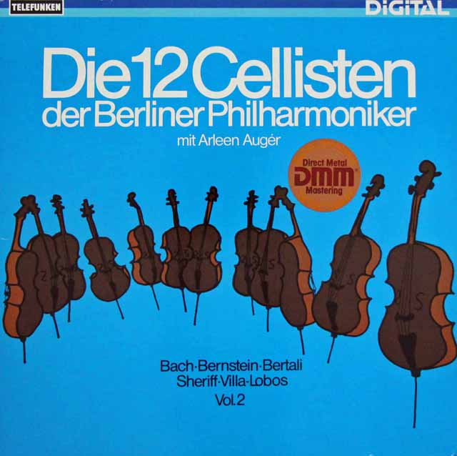 ベルリン・フィル12人のチェロ奏者たち vol.2  独TELEFUNKEN 2938 LP レコード