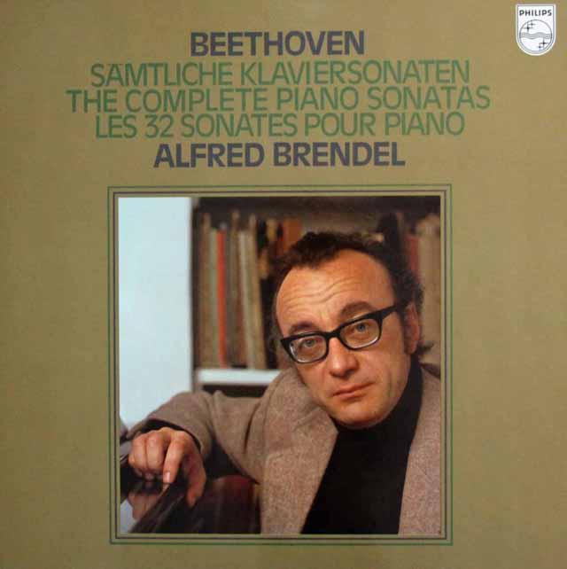 ブレンデルのベートーヴェン/ピアノソナタ全集 蘭PHILIPS 2940 LP レコード