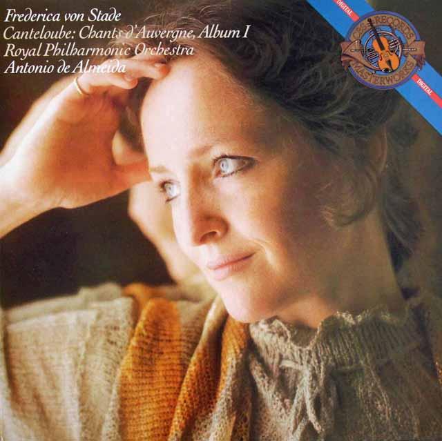 シュターデのカントルーブ/「オーベルニュの歌」 独CBS 3396 LP レコード