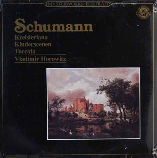 【未開封】 ホロヴィッツのシューマン/「クライスレリアーナ」ほか 蘭CBS 3395 LP レコード