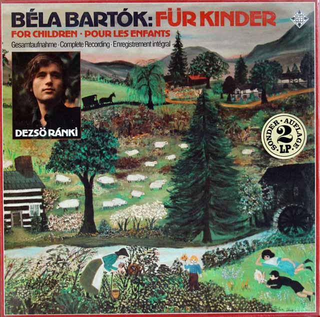 【未開封】 ラーンキのバルトーク/「子供のために」 独DECCA 3394 LP レコード