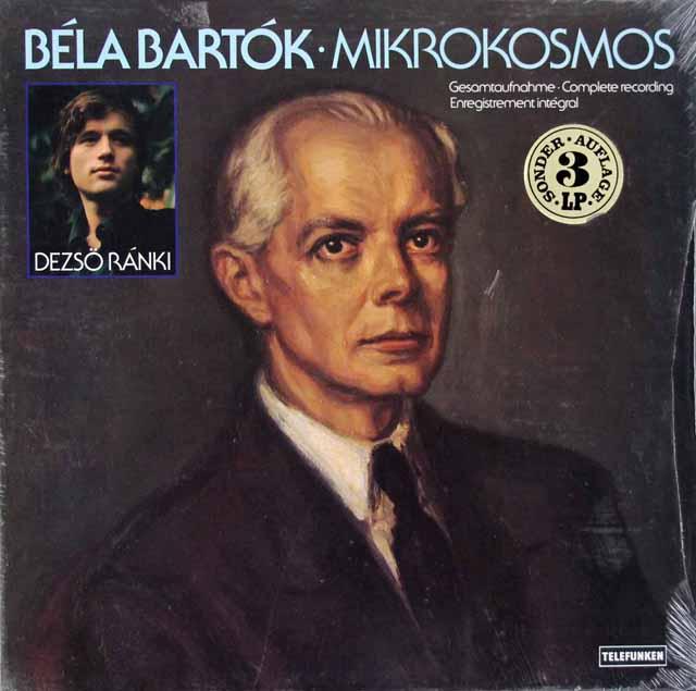 【未開封】 ラーンキのバルトーク/「ミクロコスモス」 独TELEFUNKEN 3394 LP レコード