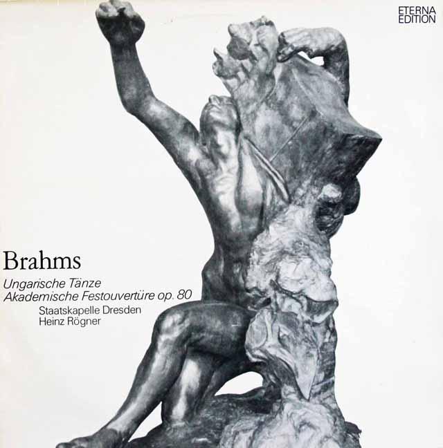 レーグナーのブラームス/ハンガリー舞曲集&大学祝典序曲     独ETERNA 3002 LP レコード