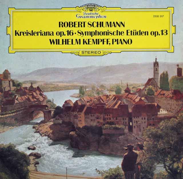 ケンプのシューマン/「クライスレリアーナ」&「交響的練習曲」 独DGG 3394 LP レコード