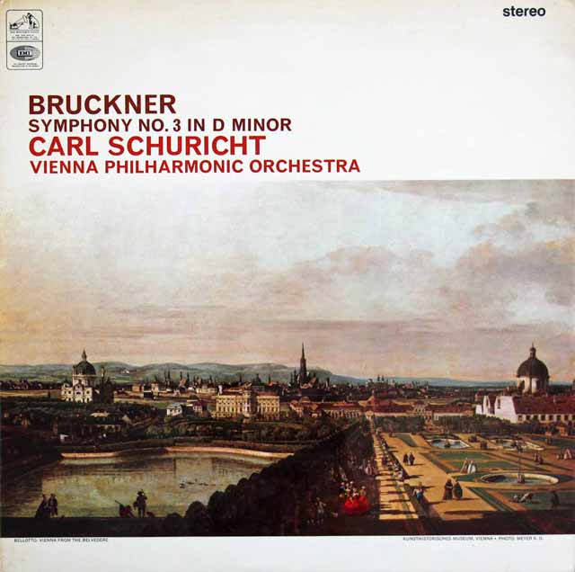 【オリジナル盤】シューリヒトのブルックナー/交響曲第3番  英EMI 3024 LP レコード