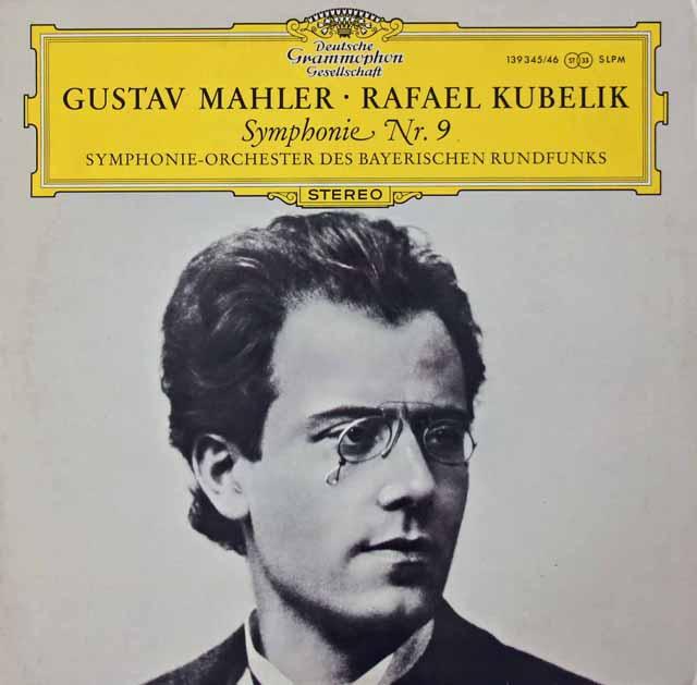 クーベリックのマーラー/交響曲第9番   独DGG 3028 LP レコード