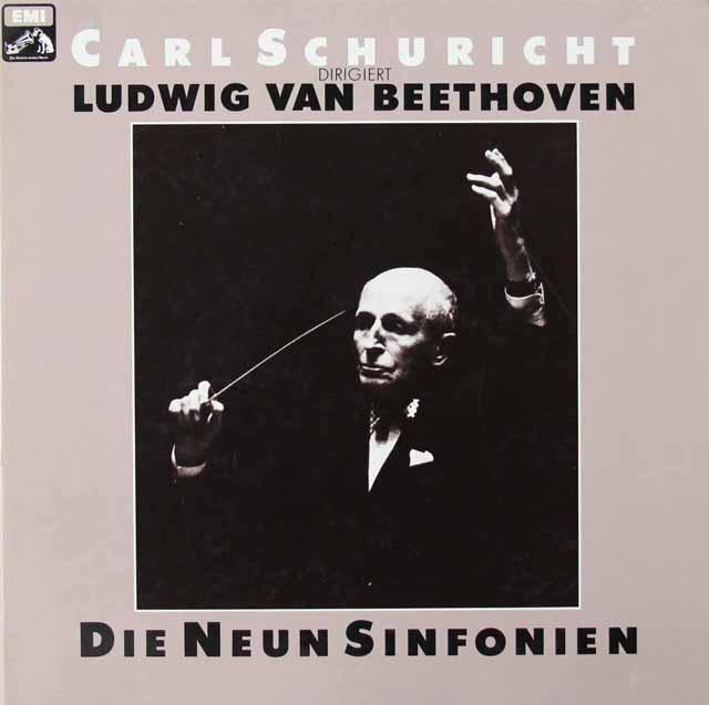 シューリヒトのベートーヴェン/交響曲全集    独EMI 3028 LP レコード