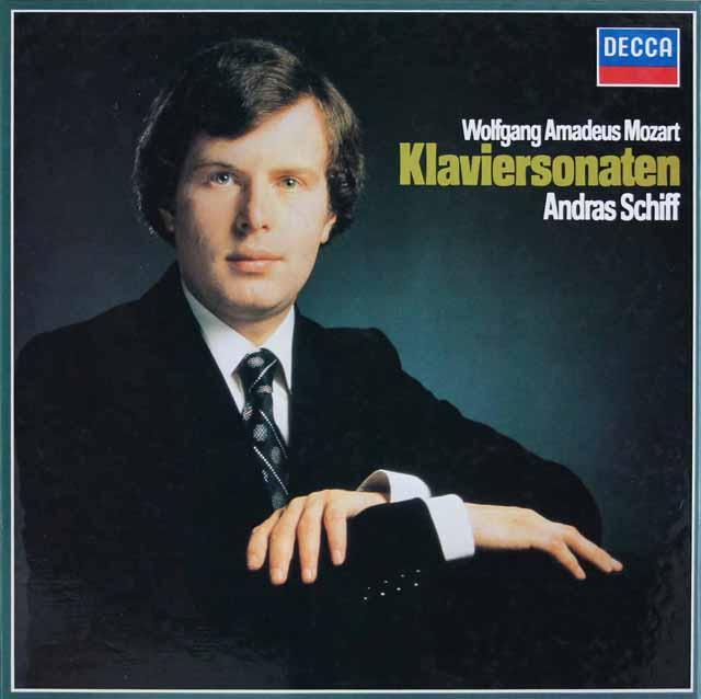 シフのモーツァルト/ピアノソナタ集 独DECCA 3040 LP レコード