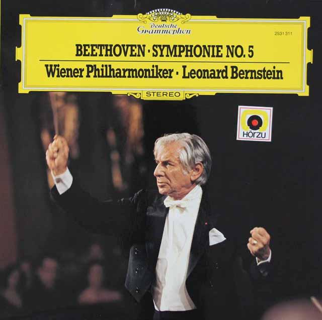 バーンスタインのベートーヴェン/交響曲第5番「運命」 独DGG 3046 LP レコード