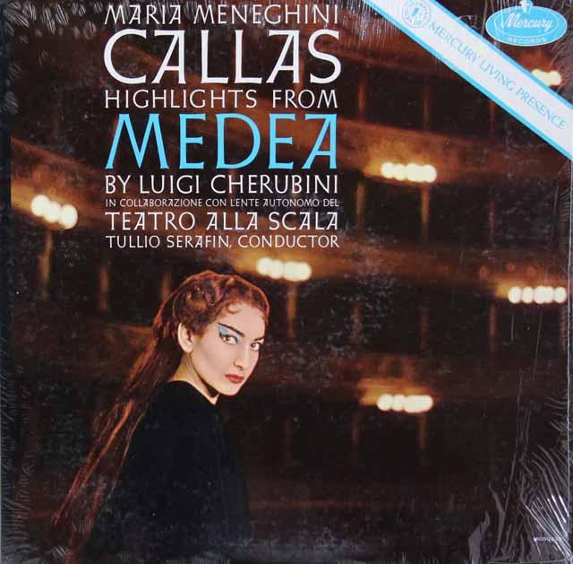 カラスのケルビーニ/歌劇「メデア」(抜粋)  米Mercury  3047 LP レコード