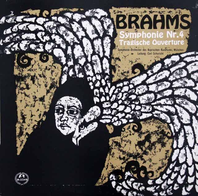 シューリヒトのブラームス/「交響曲第4番」&「悲劇的序曲」  英MMS  3047 LP レコード