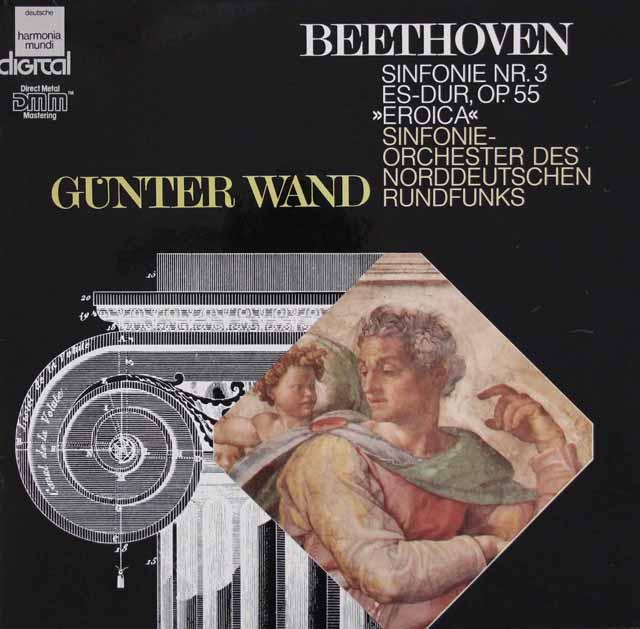 ヴァントのベートーヴェン/交響曲第3番「英雄」  独HM 3047 LP レコード