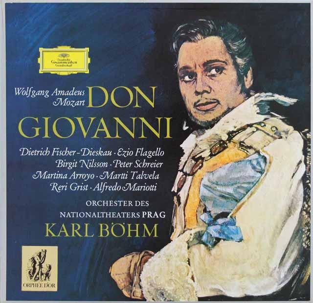 ベームのモーツァルト/「ドン・ジョヴァンニ」全曲  独DGG  3048 LP レコード