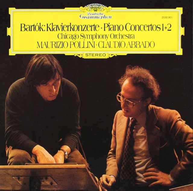 ポリーニ&アバドのバルトーク/ピアノ協奏曲第1&2番 独DGG 3101 LP レコード