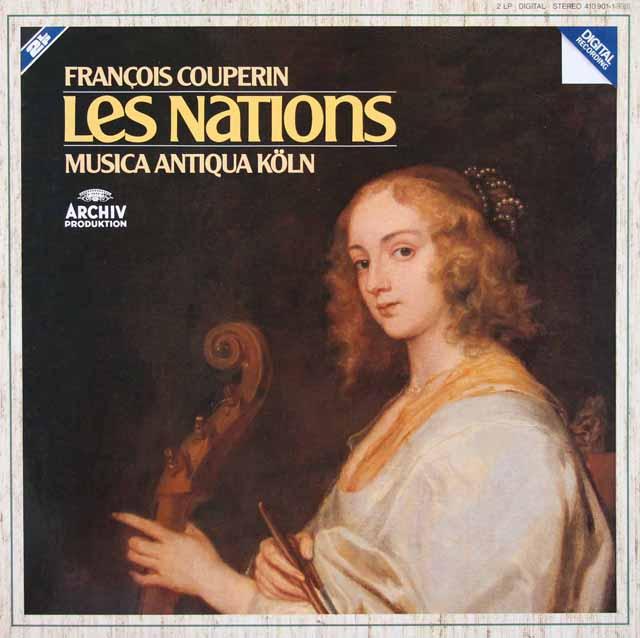 ムジカ・アンティクヮ・ケルンのクープラン/「諸国の人々」 独ARCHIV 3109 LP レコード