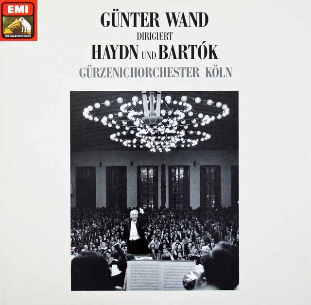 ヴァントのハイドン&バルトーク 独EMI 3109 LP レコード