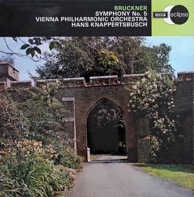 【オリジナル盤】 クナッパーツブッシュのブルックナー/交響曲第5番 英DECCA 3114 LP レコード