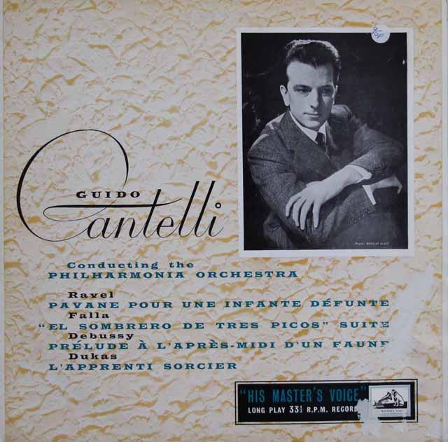 カンテッリのラヴェル/「亡き王女のためのパヴァーヌ」ほか 南アフリカEMI(HMV) 3114 LP レコード