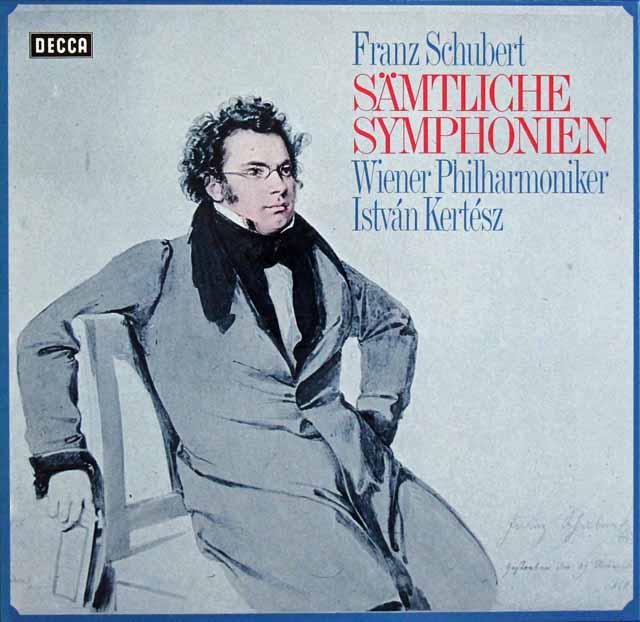 ケルテスのシューベルト/交響曲全集 独DECCA 3114 LP レコード
