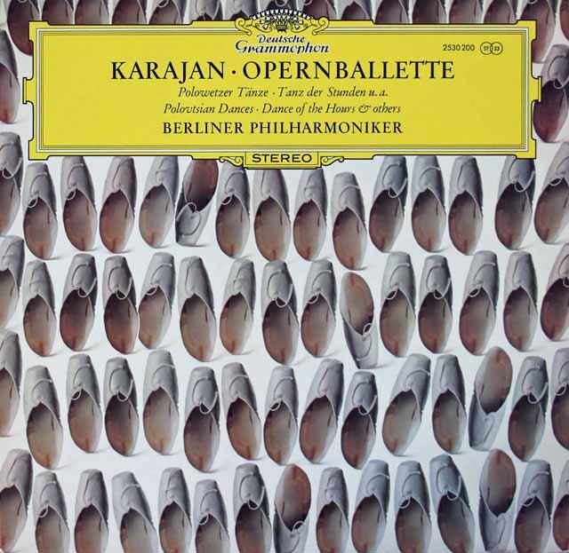 カラヤン/オペラのバレエ音楽 独DGG 3115 LP レコード